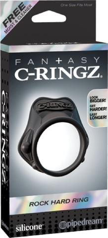 Rock Hard Ring (Black)