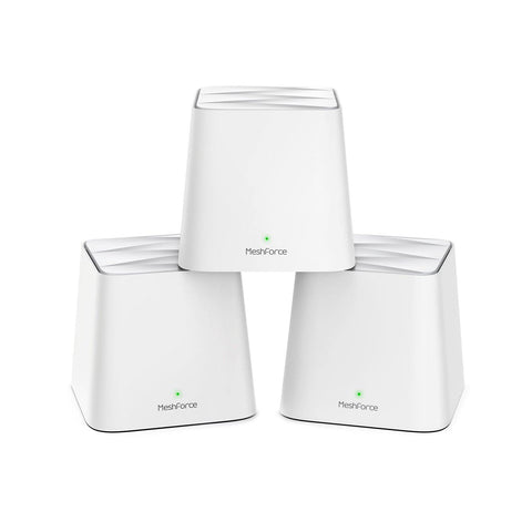 Meshforce M1 Whole Home Mesh WiFi System (3-Pack) - MeshForce