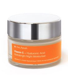 Vitamin C + Hyaluronic Acid Hydrabright Night Moisturiser 50ml