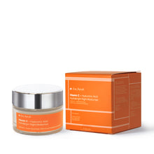 Load image into Gallery viewer, Vitamin C + Hyaluronic Acid Hydrabright Night Moisturiser 50ml
