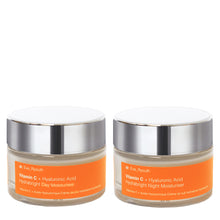 Load image into Gallery viewer, Hydra Brightening Vitamin C Day & Night Set
