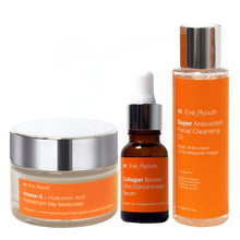Load image into Gallery viewer, Hydra Brightening Morning Skincare Regime Set