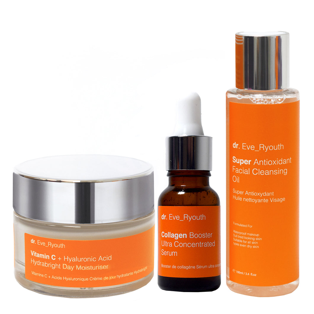 Hydra Brightening Morning Skincare Regime Set