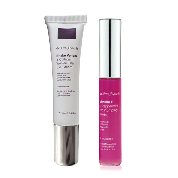 Youth Lip Plumper & Pro-Eye Cream Set