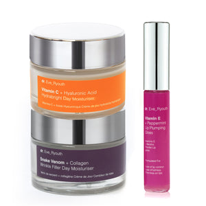 Anti-Ageing Day Creams & Lip Maximizer Set