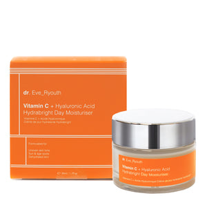 Vitamin C + Hyaluronic Acid Hydrabright Day Moisturiser 50ml