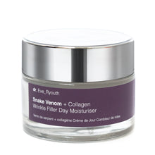 Load image into Gallery viewer, Snake Venom + Collagen Wrinkle Filler Day Moisturiser 50ml