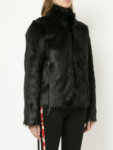 Fur Delicious Jacket - Unreal Fur Black