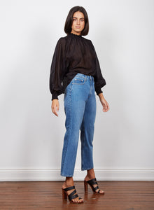 Intentions Shirred Blouse | Wish the Label