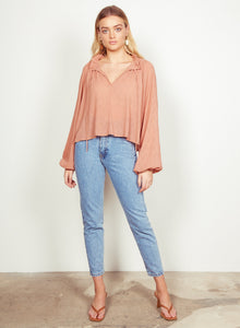 Ruby Blouse, Rust | Wish
