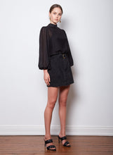 Load image into Gallery viewer, Rendezvous Blouse, Black | Wish the Label
