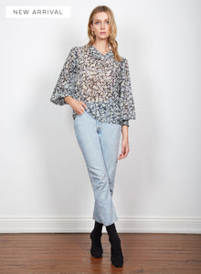 Transcend Tie Blouse | Wish The Label