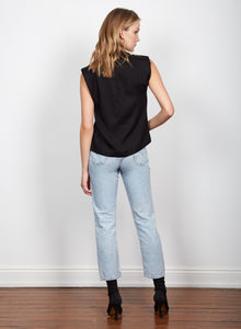 Chroma Funnel Top, Black | Wish The Label