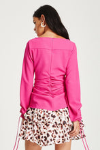 Load image into Gallery viewer, Aiken Blouse (Electric Pink)
