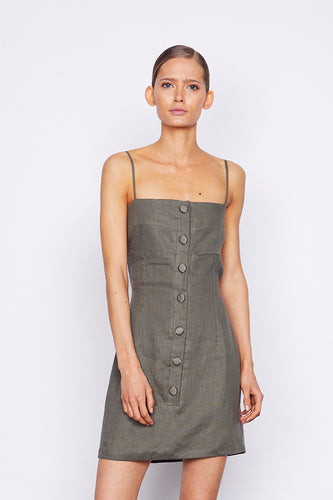 Harlem Dress - Boa Green