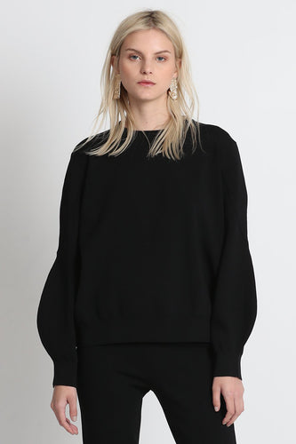 Excuse Me Midi Sweater - Black