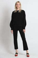 Load image into Gallery viewer, Excuse Me Midi Sweater - Black