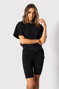 Johnny T-Shirt - Black - Alexandra
