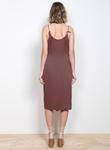 Load image into Gallery viewer, Solace Midi Dress- Bronze