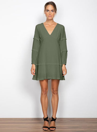 Honeysuckle Dress - Moss - Wish