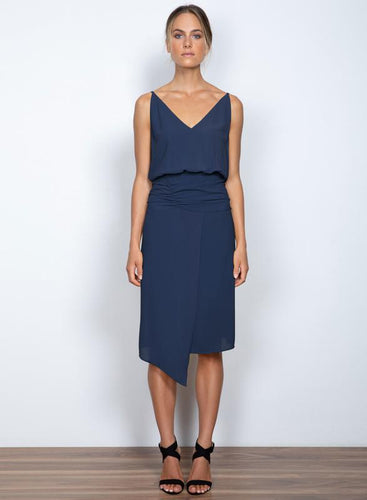 Seasons Midi Dress Midnight - Wish