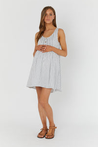 Arabella Dress - Stripe | LEGOE