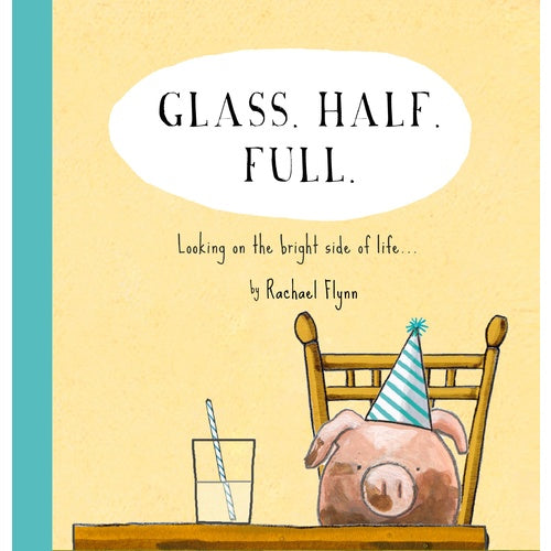Glass Half Full - Quote Book Hard Cover