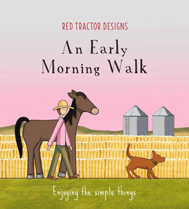 An Early Morning Walk, Little Quote Book | Red Tractor Designs