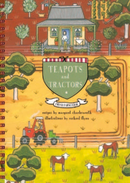 Teapots and Tractors, Receipe Book | Red Tractor Designs