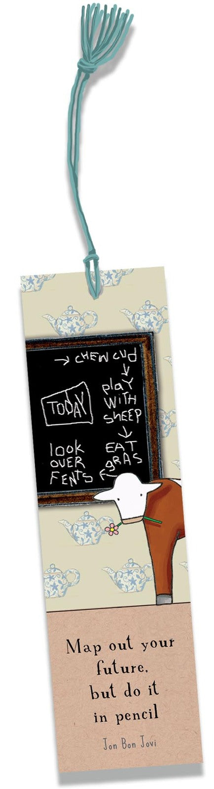 Cow's Grand Plans- Bookmark