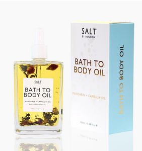 bath to Body oil, salt by hendrix