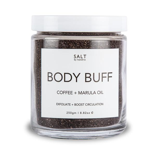 BODY BUFF - COFFEE + MARULA OIL