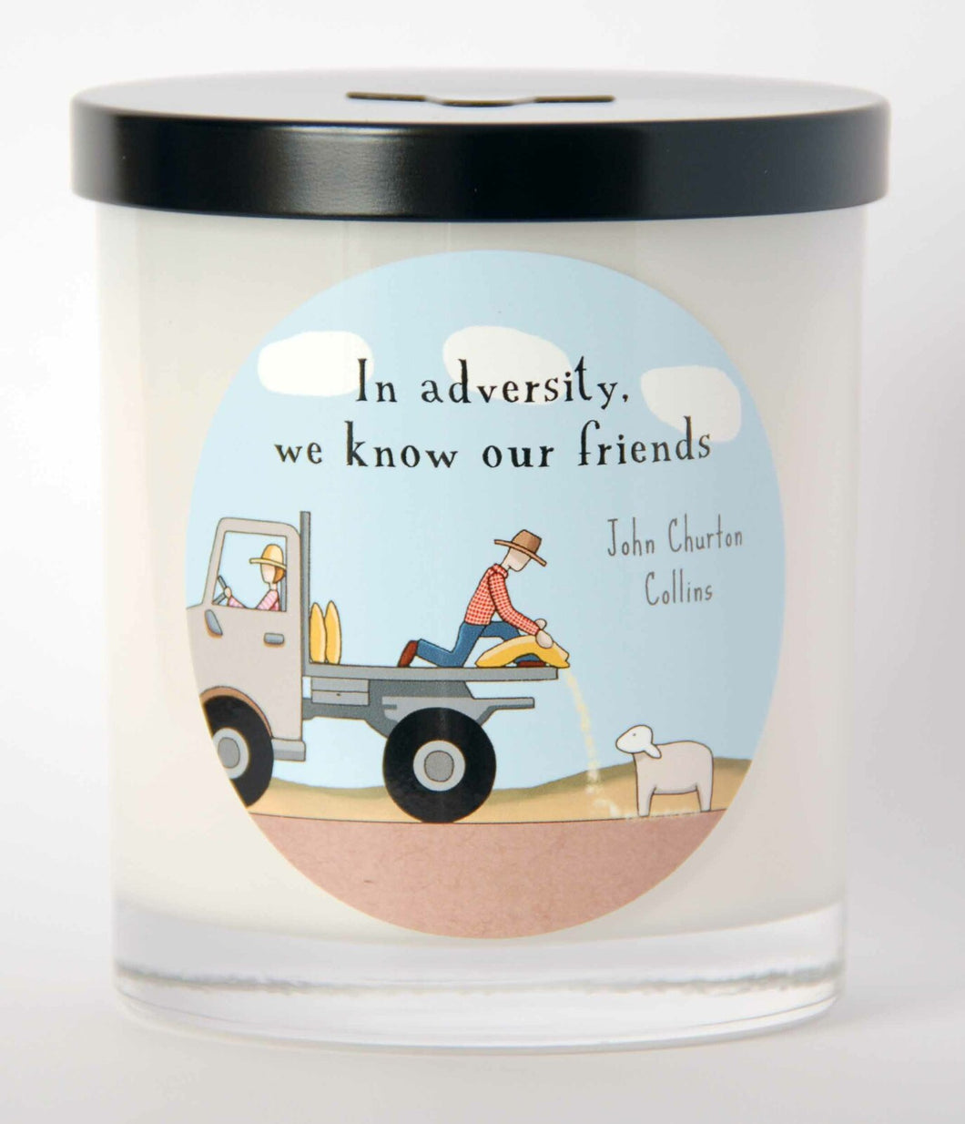 We Know our Friends- Candle