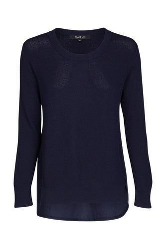 Chloe Crepe Sweater | Cable Melbourne
