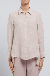 Flossy Linen Shirt | Cable Melbourne