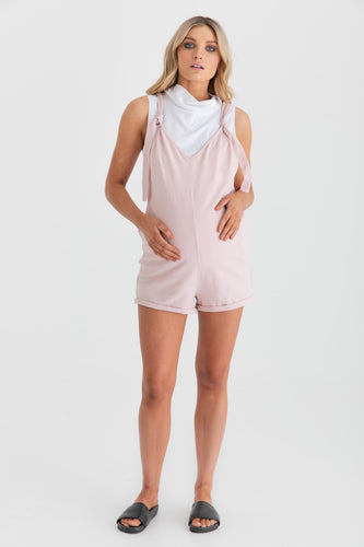 Chalet Playsuit (Blush)