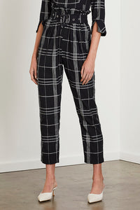 Steele - Echo Pant, Noir Check