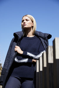 Piper Sweater- Navy