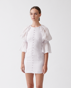 SARIYA LINEN RAMIE DRESS - Dusk | Joslin Studio