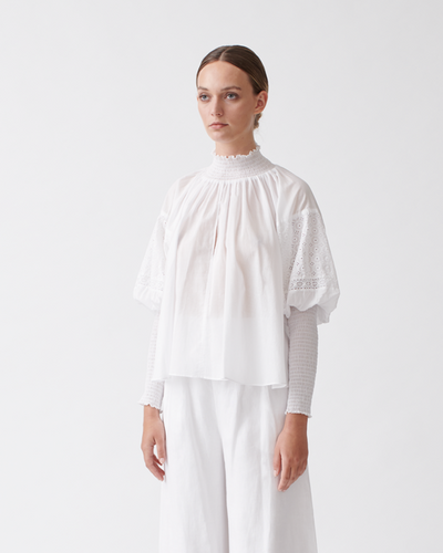 Antonia Cotton Trapese Top | JOSLIN