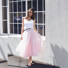 Load image into Gallery viewer, MADDY SKIRT PINK | A L E X A N D R A