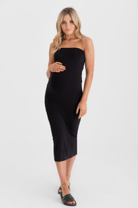 Margot Midi Dress Black