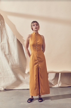 Load image into Gallery viewer, Gold Dust Maxi  Dress (marigold)