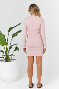 Nadia Mini Dress - Pink | LEGOE