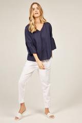 Flossi Top Navy | Primness