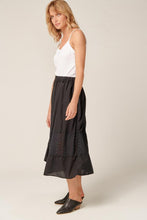 Load image into Gallery viewer, Ludie Skirt Noir, Primness