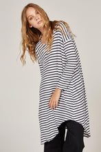 Load image into Gallery viewer, Piqi Tunic - Black & White Stripe