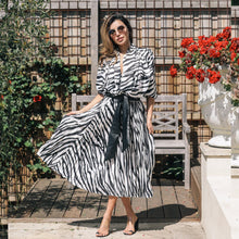 Load image into Gallery viewer, BENTO Zebra Skirt | A L E X A N D R A