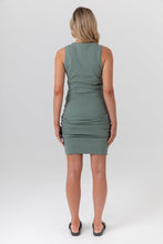 Load image into Gallery viewer, Portugal Dress - (Olive)