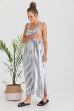 Load image into Gallery viewer, Ryder Dress (White/Navy Stripe)